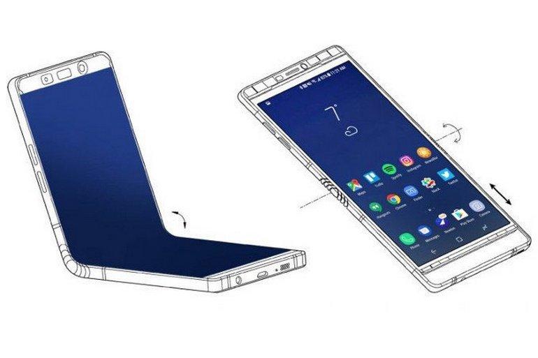 Samsung може випустити перший гнучкий смартфон уже 2019 року – за ціною у $1850!