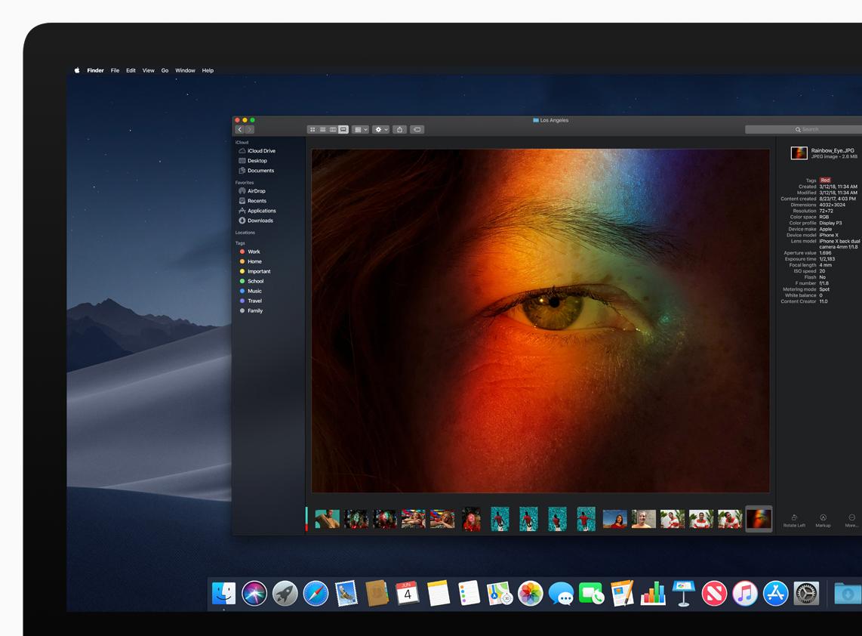 Нова операційна система Apple macOS Mojave отримає крутий режим
