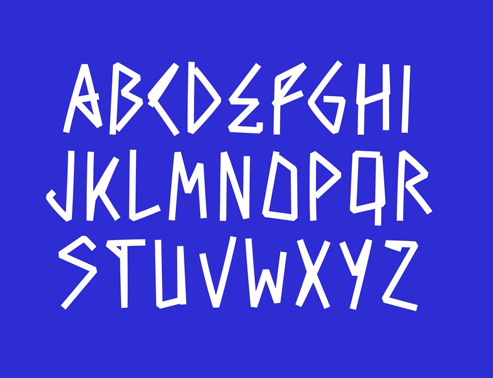 """Дизайнери в """"шоці"""": для айдентики найпрестижніших змагань з волейболу придумали дивний шрифт (ФОТО)"""