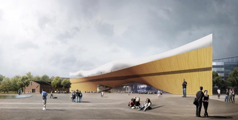 Неймовірна бібліотека в Гелсінкі близька до завершення (ФОТО)