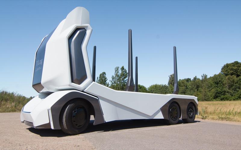 Стартап Einride представив безпілотну вантажівку T-Log з цікавим дизайном (ФОТО)