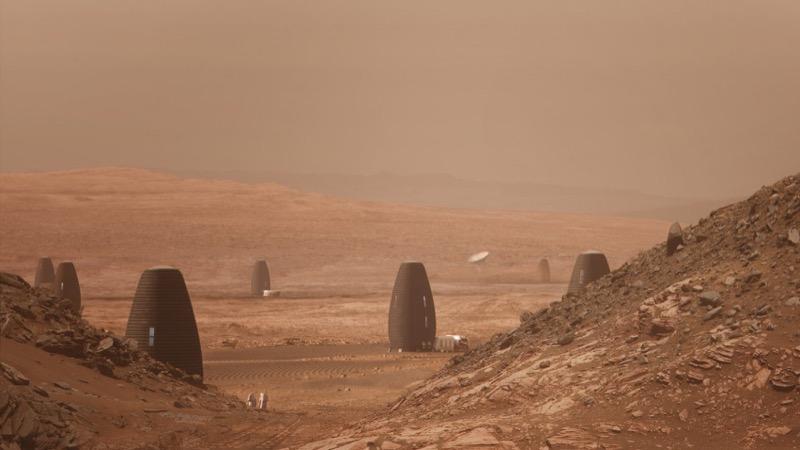 NASA обрала переможців конкурсу на дизайн житла на Марсі (ФОТО,  ВІДЕО)