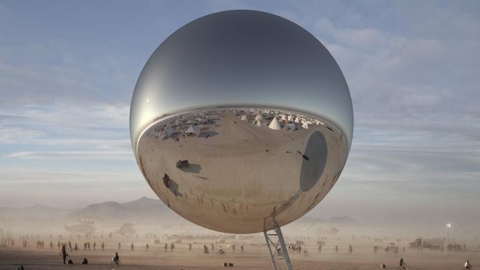 Відомі архітектори хочуть збудувати гігантську кулю на фестивалі Burning Man