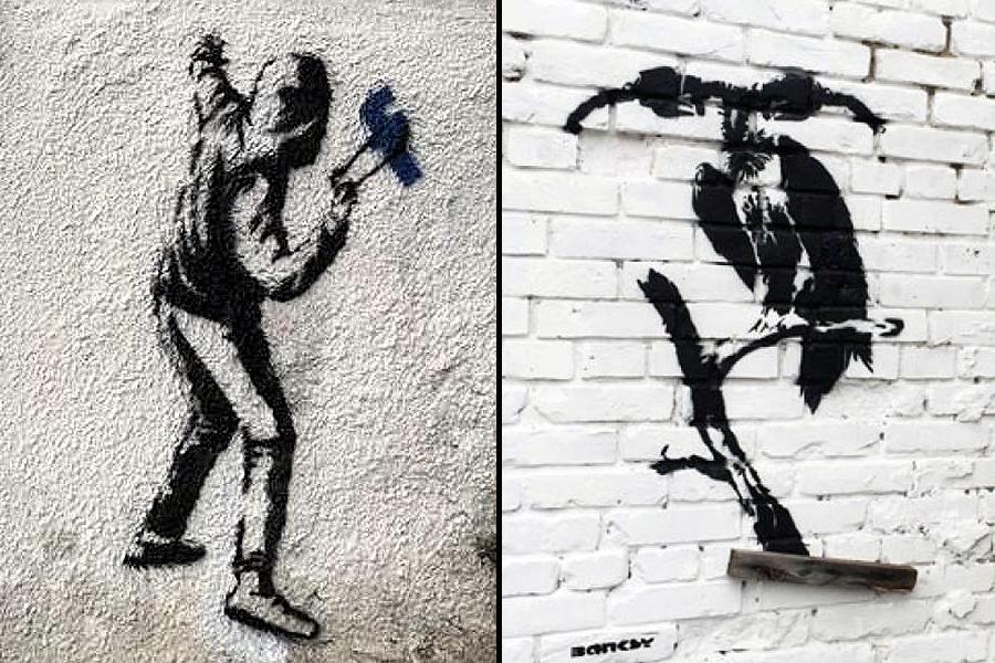 Не вірте всьому, що малюють на стінах Або як у Києві з'явився фейковий Бенксі (ФОТО)