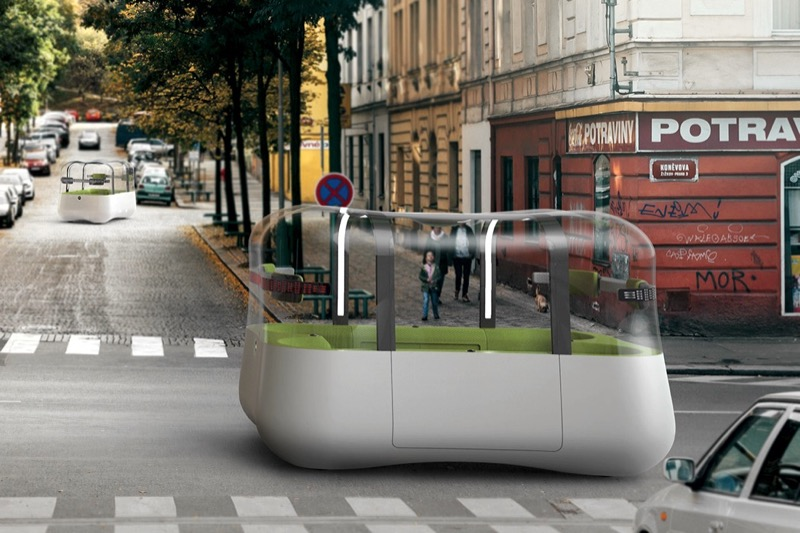 """""""Бульбашковий"""" громадський транспорт – як оригінальна дизайн-візія майбутнього (ФОТО)"""