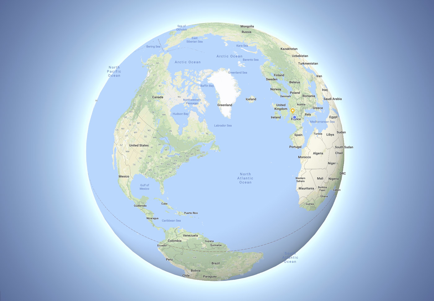 Google Maps тепер має більш реалістичний дизайн – Земля стала круглою