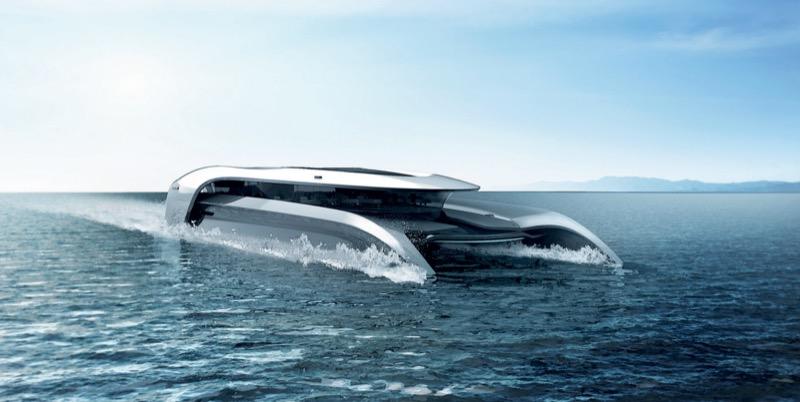 Човен із 2030 року – красивий концепт від британського дизайнера (ФОТО)