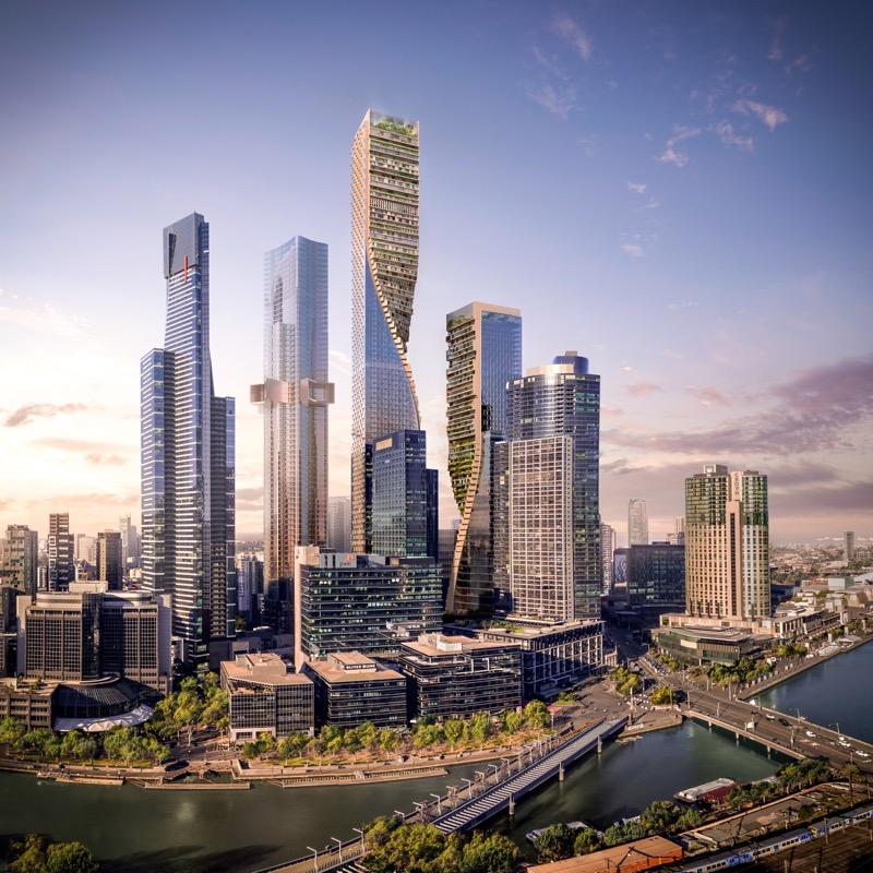 Висота 356 м і КУПА зелені – такою буде найвища будівля Австралії (ФОТО)