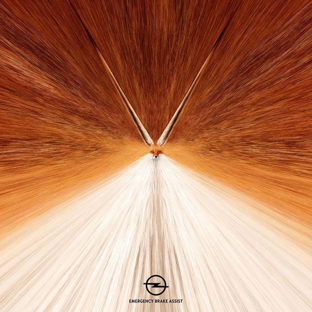 ДУЖЕ помітні рекламні принти від Opel (ФОТО)
