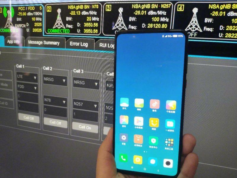 Xiaomi показала повністю безрамковий смартфон з підтримкою 5G