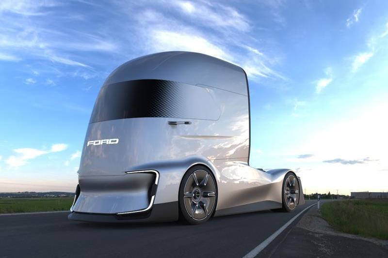 Відповідь Tesla Semi від Ford – дуже крута електровантажівка F-Vision Future Truck (ФОТО)