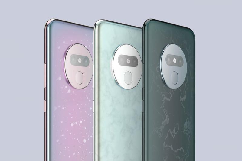 ОРИГІНАЛЬНО: смартфон, що змінює забарвлення залежно від температури (ФОТО)