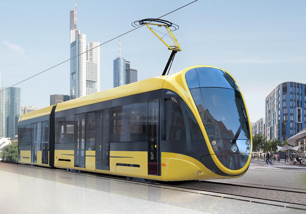 """Українська компанія """"Татра-Юг"""" показала симпатичний дизайн низькопідлогового трамвая (ФОТО)"""