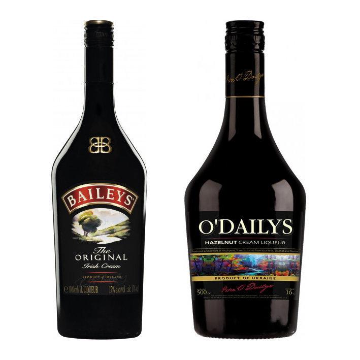 """Як Закарпатський """"Котнар"""" підробив лого Baileys – і отримав штраф на 1 млн. грн."""