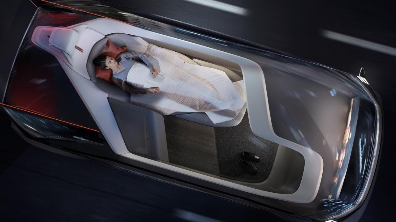Дизайнери Volvo розробили КРУТЕЗНИЙ концепт безпілотного авто (ФОТО)