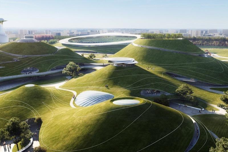 Спортивний кампус, що виглядатиме майже як довкілля! (ФОТО)