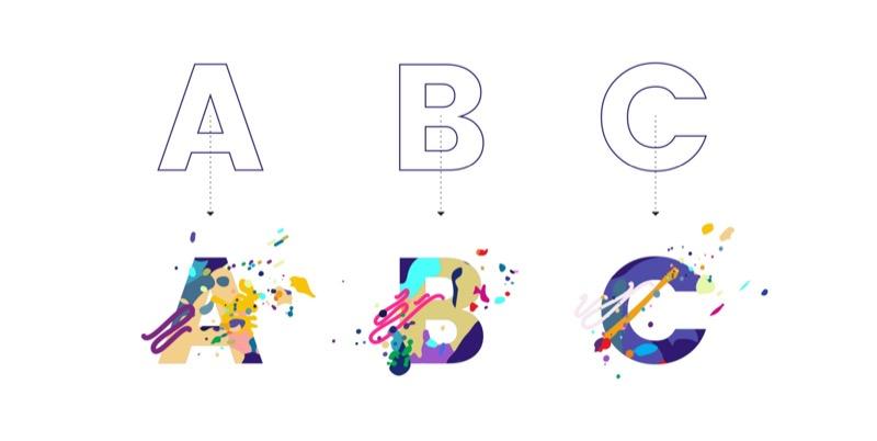 Робимо стилізацію для літер! (покрокова інструкція)