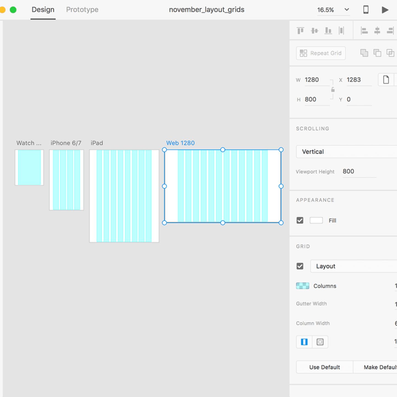 Модульні сітки в UI: макети сіток в інтерактивному дизайні