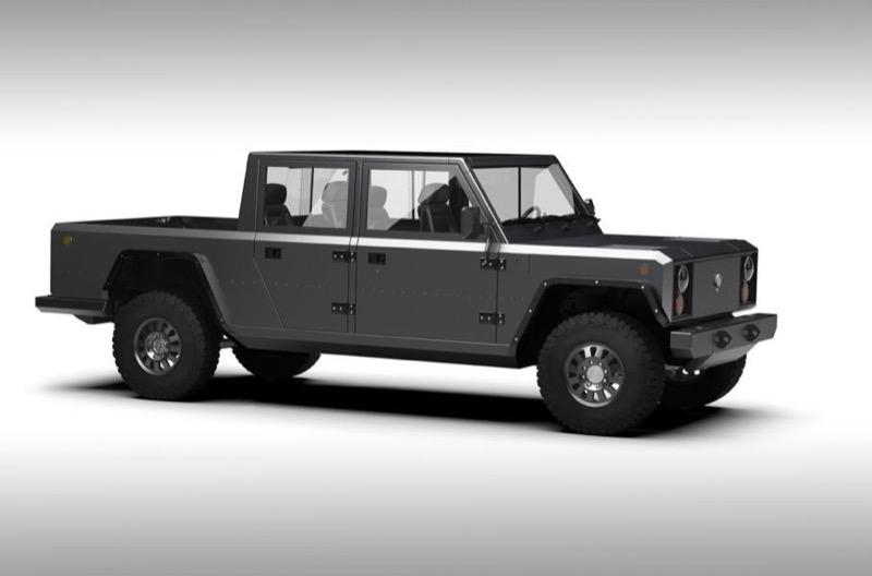 Брутально-практичний дизайн авто: Bollinger показала електро-пікап (ФОТО)