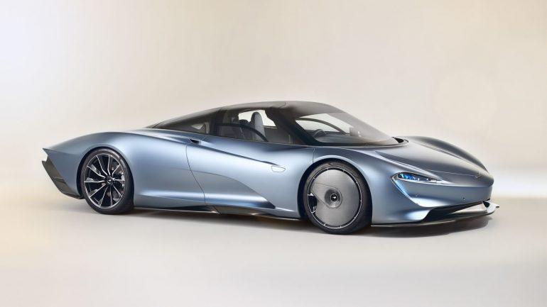 McLaren Speedtail – незвичайний дизайн гіперкару (ФОТО, ВІДЕО)