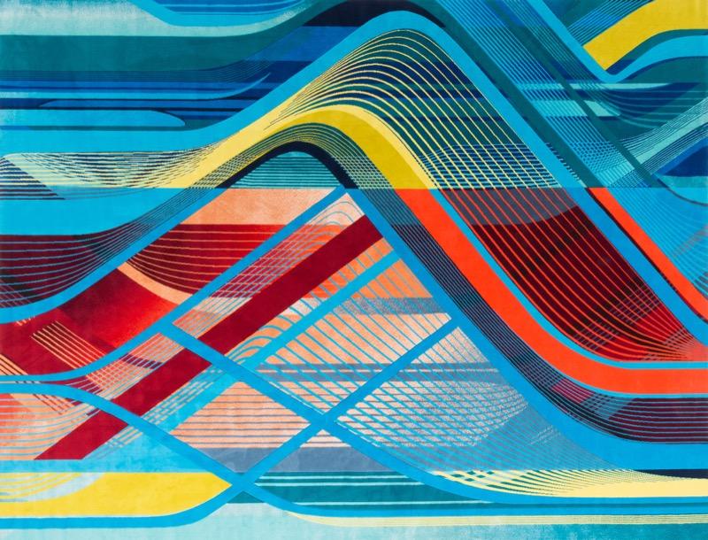 Дизайн легендарної Захи Хадід перенесли на килими (ФОТО)