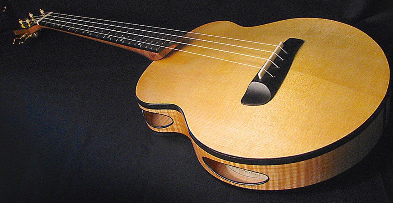 Ого! Американець запропонував незвичайний редизайн гітари (ФОТО)