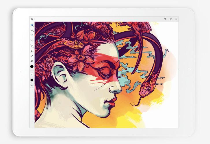Adobe представила повноцінний Photoshop для iPad, а також порадувала художників і блогерів