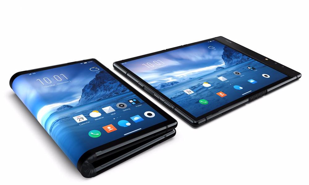 Перший серійний смартфон з гнучким екраном випустили в Китаї, його ціна – від $1290