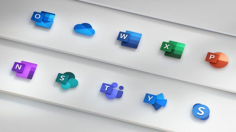 Microsoft оновлює логотипи своїх офісних продуктів (ФОТО + ВІДЕО)