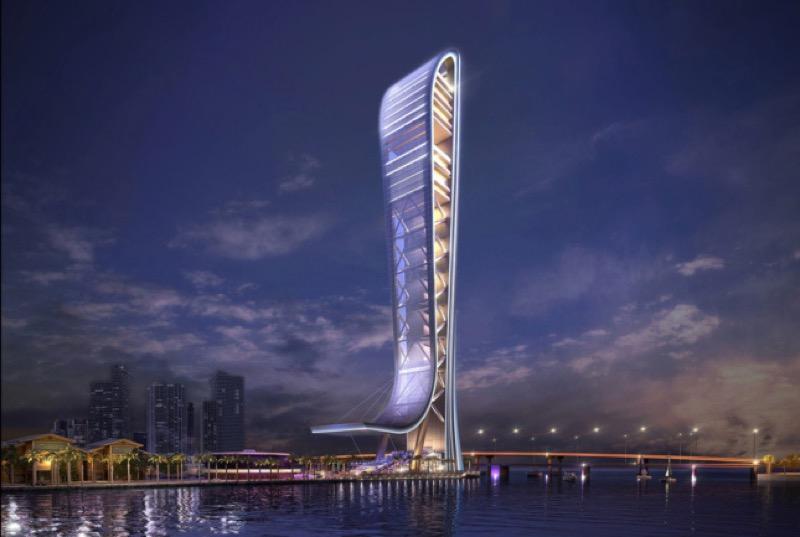 Овва!  У Маямі побудують тематичний парк у вигляді хмарочоса (ФОТО)