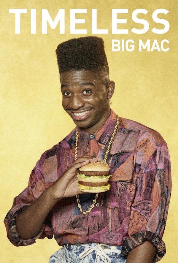 Круті ретро-постери від McDonald's – на честь 50-річчя Біг-Мака (ФОТО)