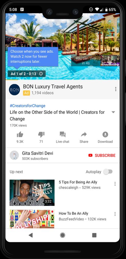 Маркетологам на замітку: YouTube вирішив подвоїти кількість реклами