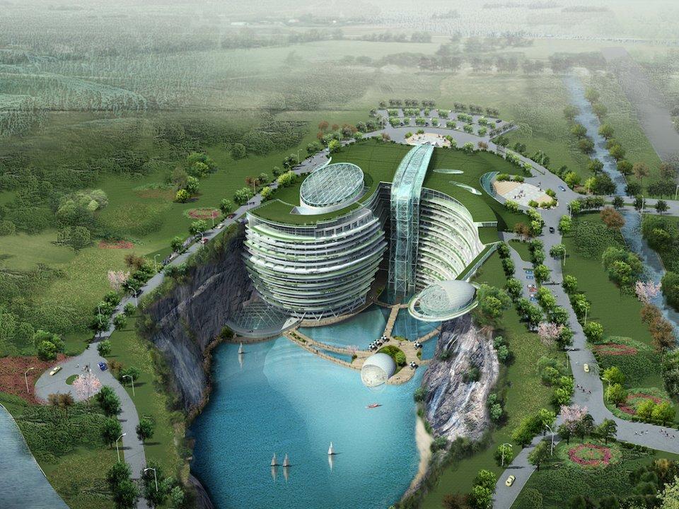 InterContinental Shanghai Wonderland – нове ДИВО архітектурної і дизайнерської думки із Китаю (ФОТО)