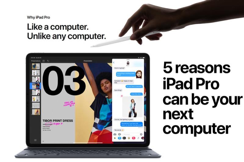 Apple знайшла аж 5 причин для придбання нового iPad Pro (ВІДЕО)