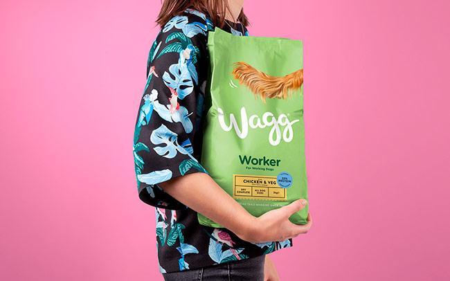 """""""Хвіст та жваві кольори"""" – брендинг для тваринного корму Wagg з Британії (ФОТО)"""