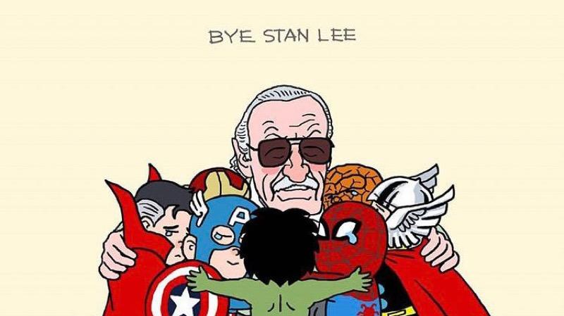 Як художники вшанували легендарного творця коміксів Marvel Стена Лі