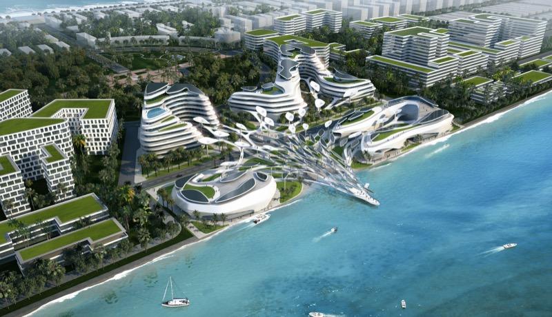 """""""Океанський рай"""": вишуканий екодизайн для Мальдив"""