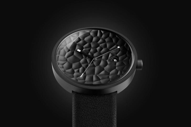 Мінімалізм + текстурність = класний дизайн годинника від Alessio Romano (ФОТО)