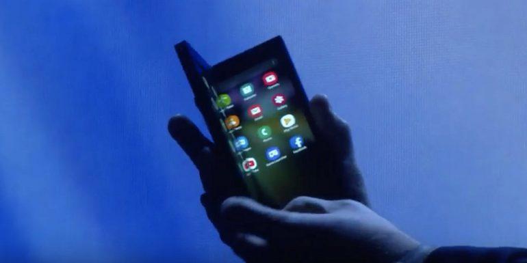 Samsung офіційно показала прототип гнучкого смартфона (чого очікувати дизайнерам)