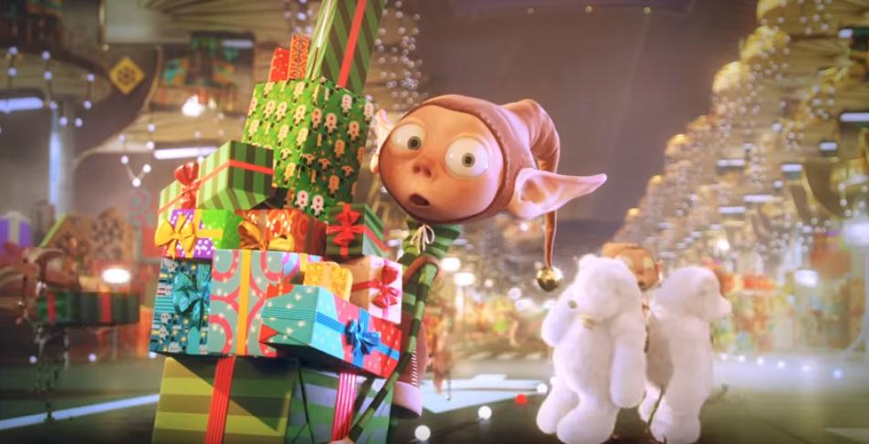 Зворушлива різдвяна анімація для швейцарської мережі універмагів Manor (ВІДЕО)