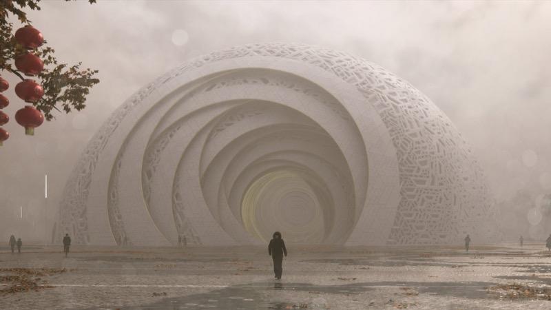 """""""Портал у невідоме"""" – неймовірний купольний дизайн для театру (ФОТО)"""