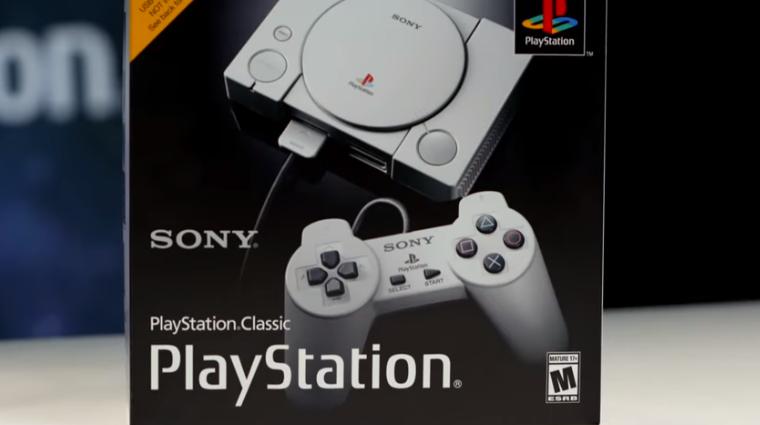 Sony показала мініатюрну консоль PlayStation Classic з ретро-іграми (ВІДЕО)