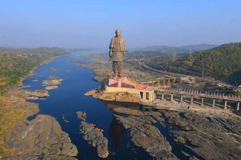 В Індії добудували найвищу статую у світі (ФОТО, ВІДЕО)