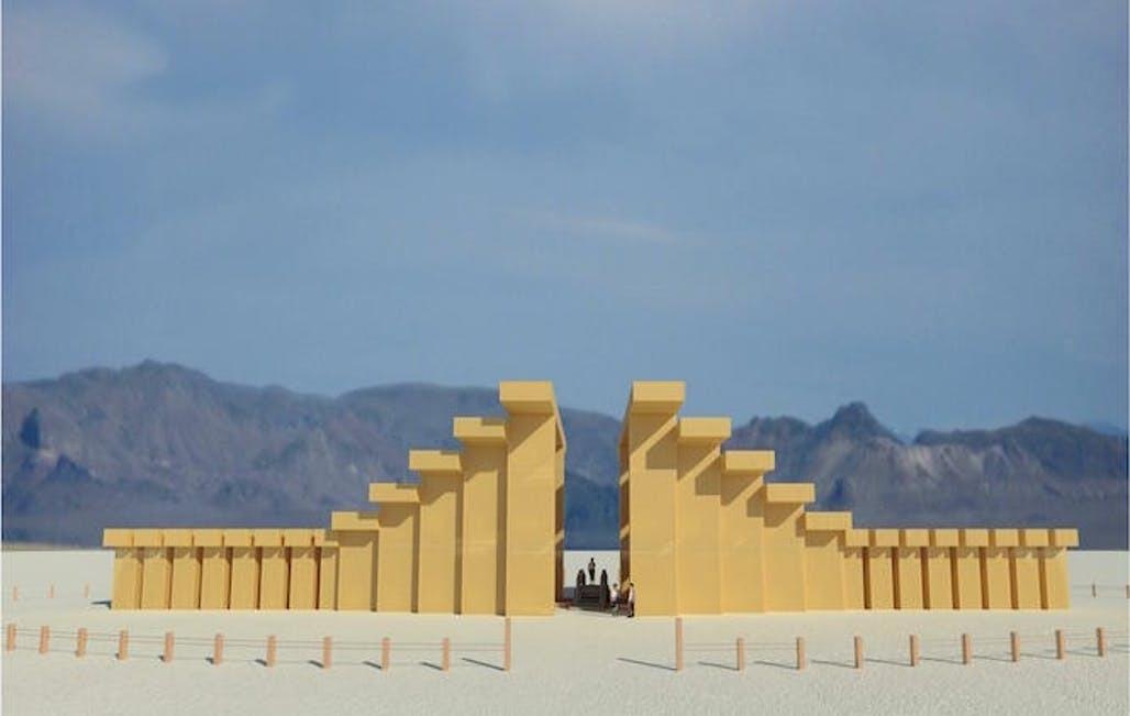 """""""Привіт із Японії"""" або як Burning Man розкрив дизайн головного храму 2019 року (ФОТО)"""