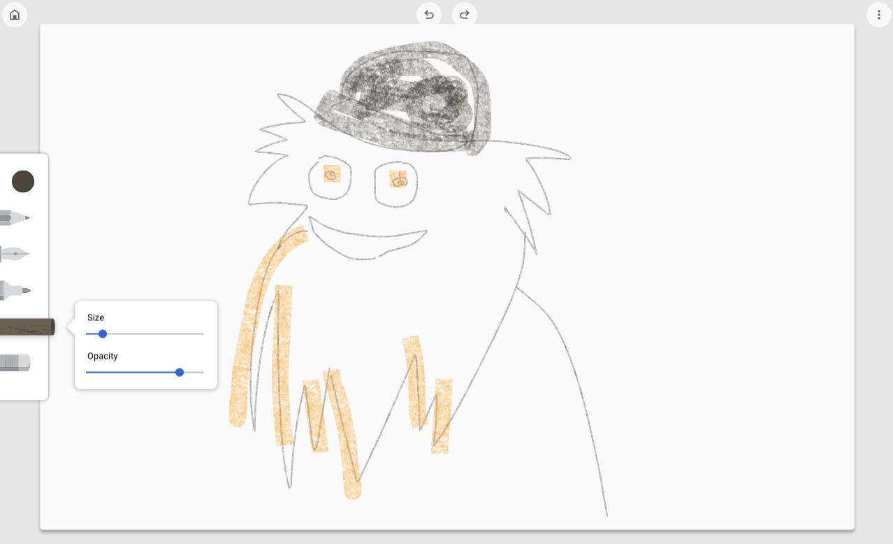 У браузері Google Chrome – супер-примітивний додаток для малювання – Canvas