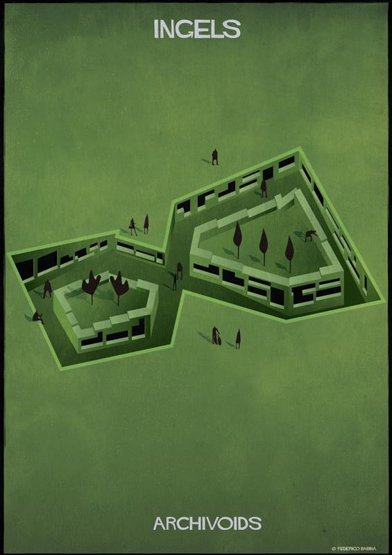 """Цікавий погляд на """"білий простір"""" в архітектурі в ілюстраціях (ФОТО)"""