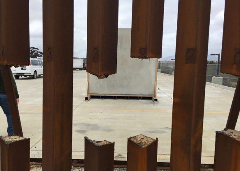 Epic fail: дизайн 8 прототипів для стіни Трампа від Мексики не витримав краш-тестів