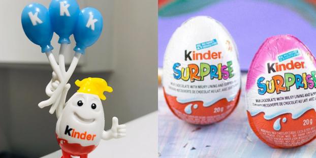 Як дизайн нової іграшки від Kinder викликав скандал у США (ФОТО)