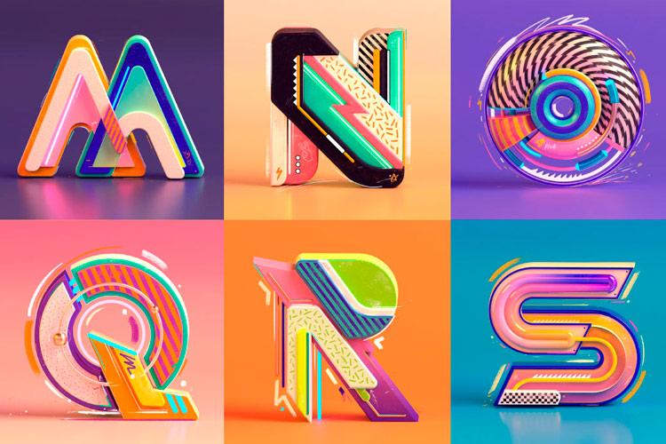 3D типографія для натхнення від дизайнера з Індії (ФОТО)