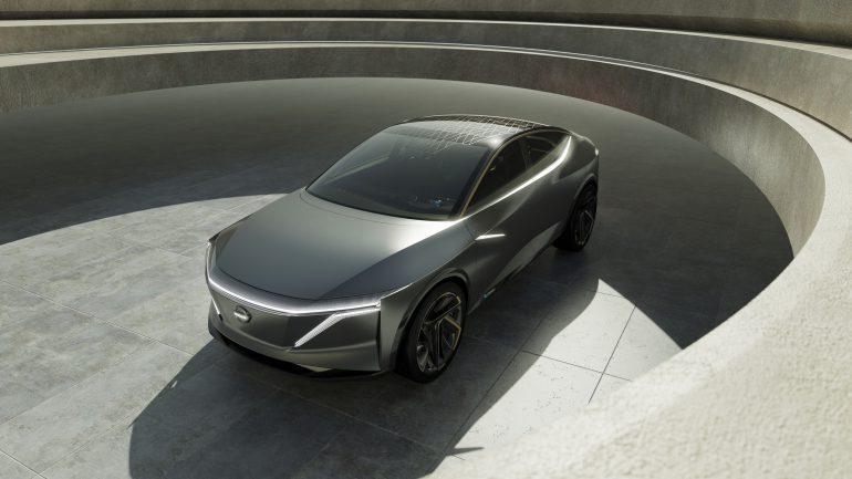 Супер-дизайн електромобіля – Nissan IMs (ВІДЕО)